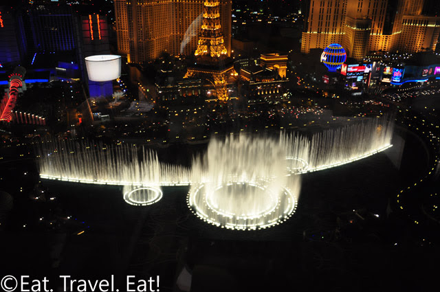 Bellagio Fountains Night 3