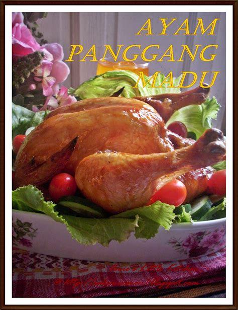 sinar terang yangria   masak ayam panggang madu