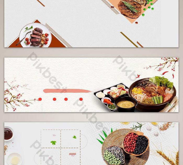 Spanduk Dagang Makanan - desain spanduk kreatif