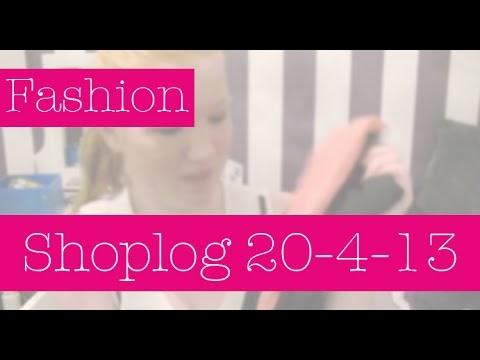 Shoplog 20 april 2013