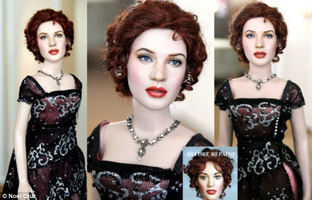 Rose: Noel Cruz's repainted version of Kate Winslet's character in Titanic