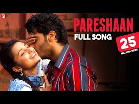 Pareshaan Lyrics - Ishqzaade   Shalmali Kholgade