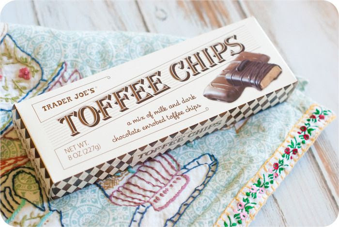trader joe's toffee chips review : part of a weekly review series of tj's desserts and treats