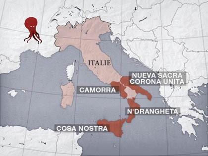 Les Cinq Mafias de L'Italie