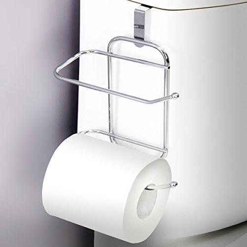Vanderbilt Over The Tank Toilet Paper Tissue Hanging Metal Import