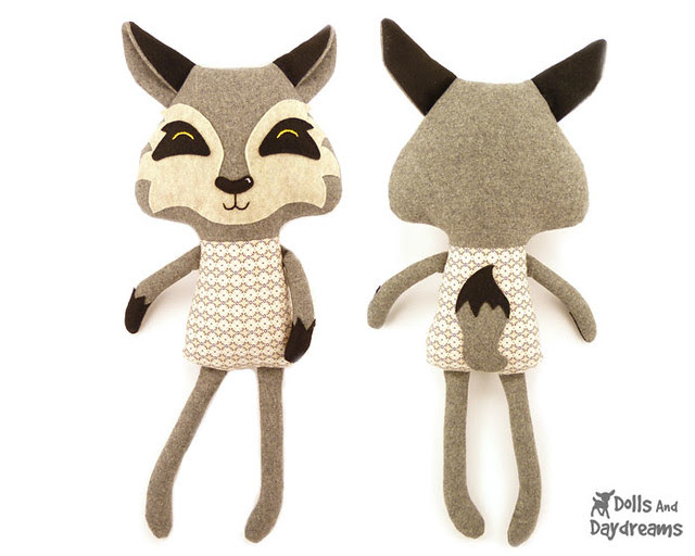 Wolf Sewing Pattern