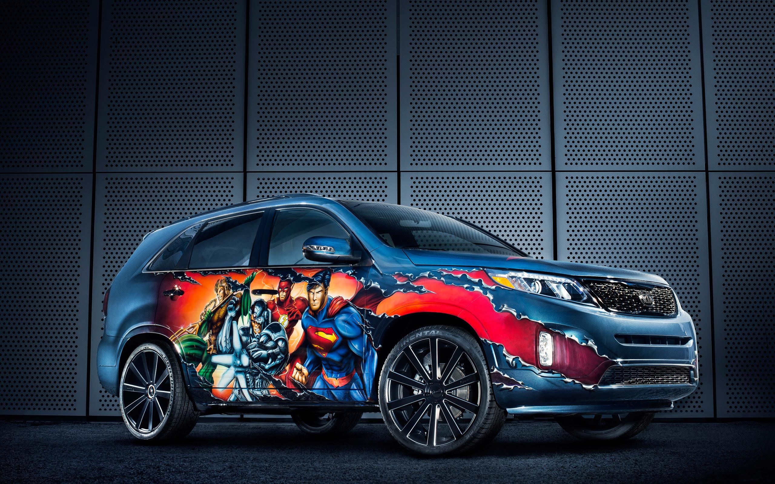 2013 Kia Justice League Sorento 2 Wallpaper | HD Car ...