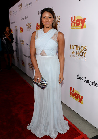 Gina Rodriguez - The '2013 Latinos de Hoy Awards' At Los Angeles Times Chandler Auditorium