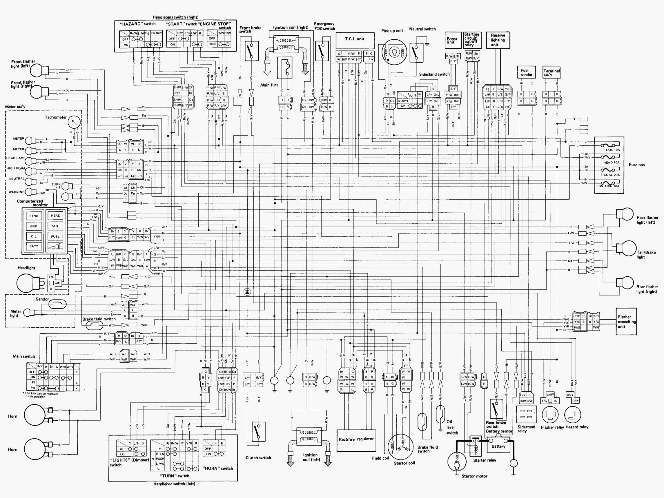1982 Yamaha Maxim Xj1100 Wiring Diagram Wiring Diagram View A View A Zaafran It