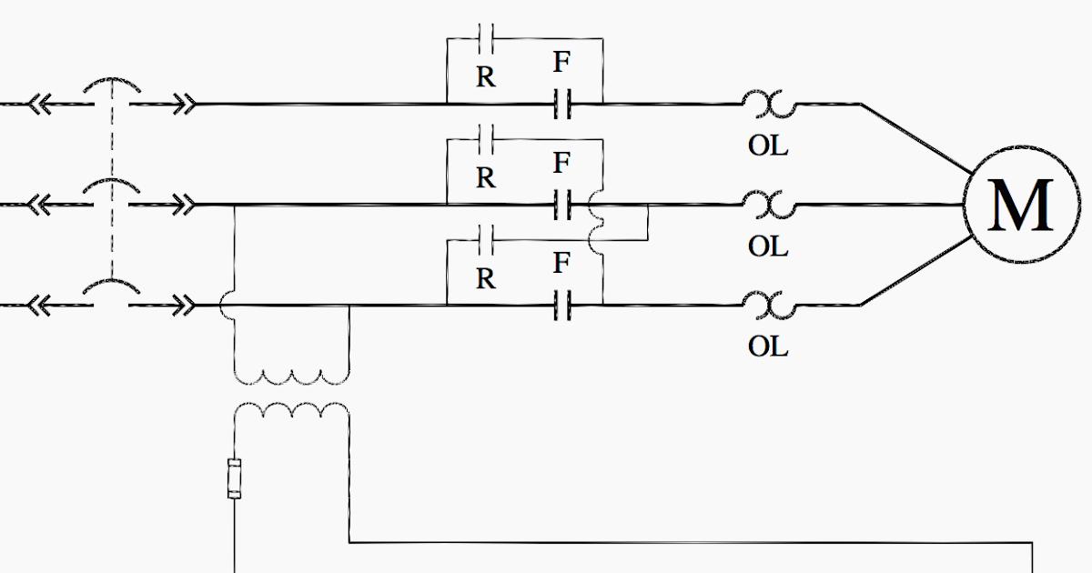 Electrical Control Ladder Wiring Diagram