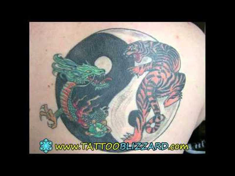 Dragon Tiger Tattoo Design Tattoos Book 65000 Tattoos Designs