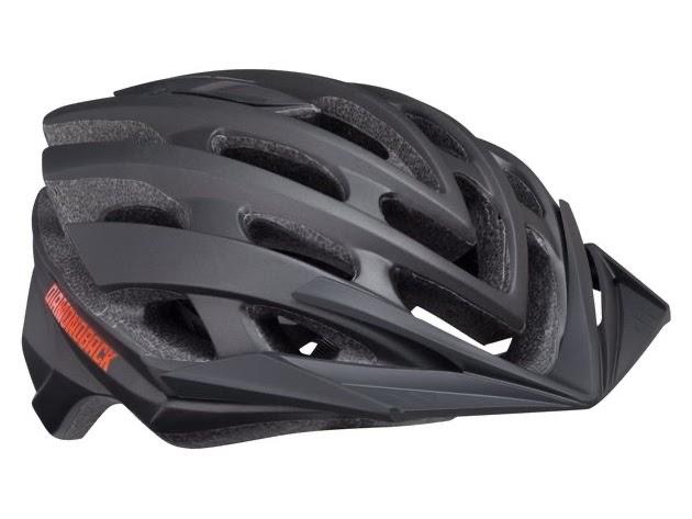 Diamondback Overdrive Mountain Bike Helmet, Large - Matte Black (New) for $116