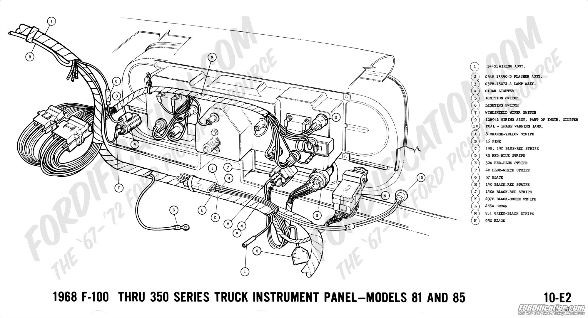 68 ford fuse box diagram image 3