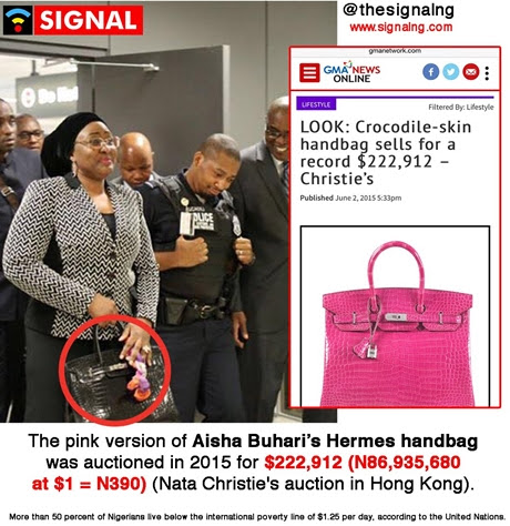 Image result for aisha buhari trip to us