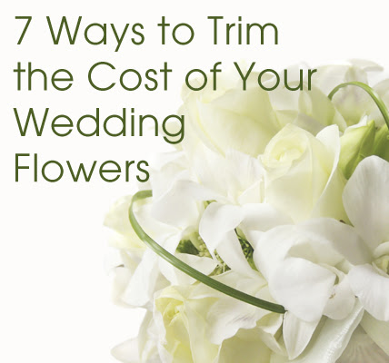 wedding flowers cost for