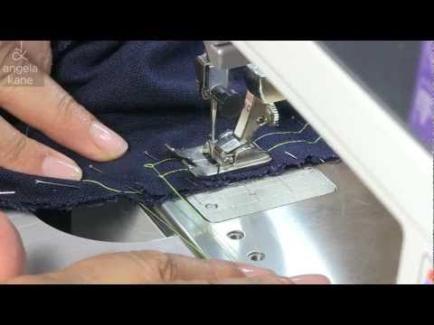 Sewing Inset Sleeves