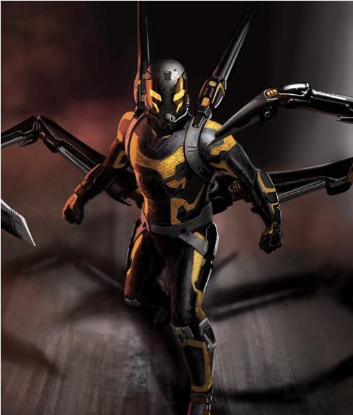 El traje de Chaqueta Amarilla de Darren Cross
