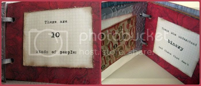 Jimjams - Quotes Mini-book - There are 10 Kinds of People