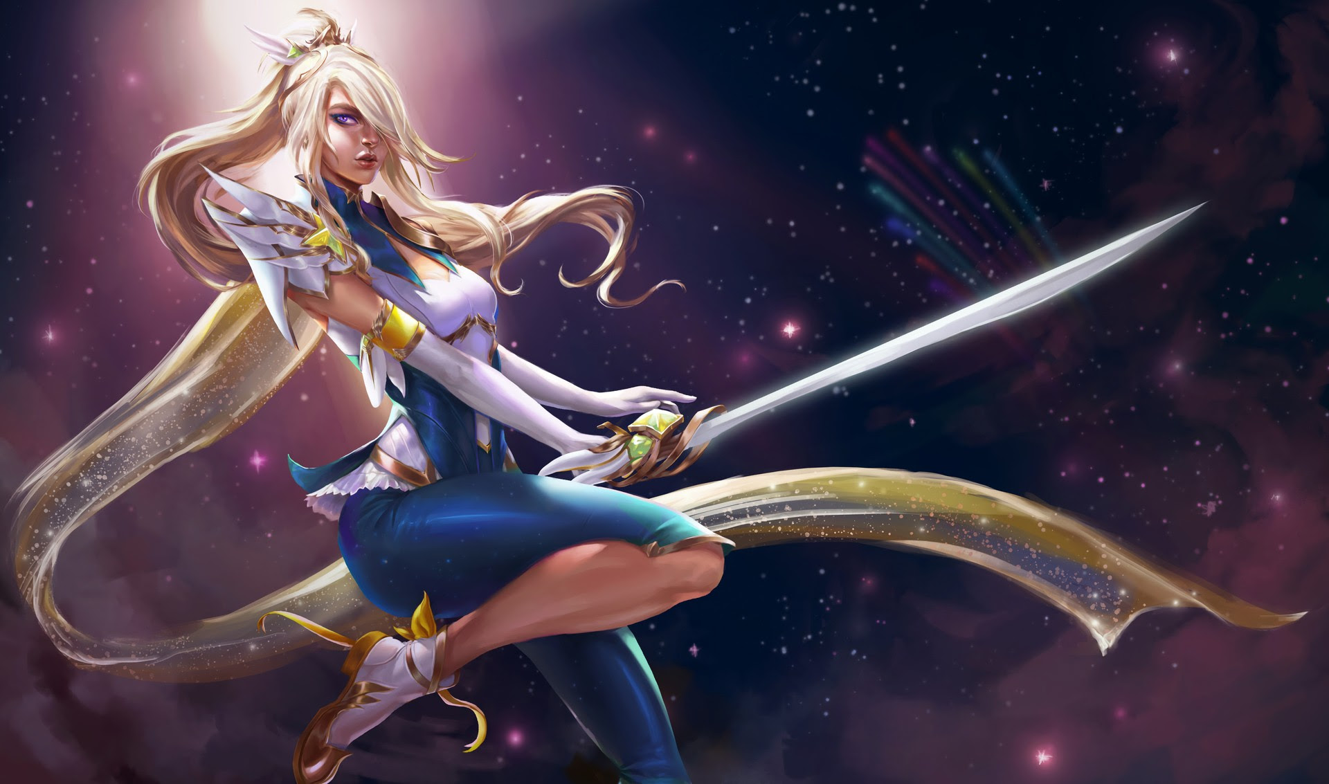 Star Guardian Fiora Concept Wallpapers Fan Arts League Of