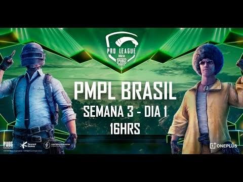 [PTBR] PMPL Brasil - Semana 3 Dia 1