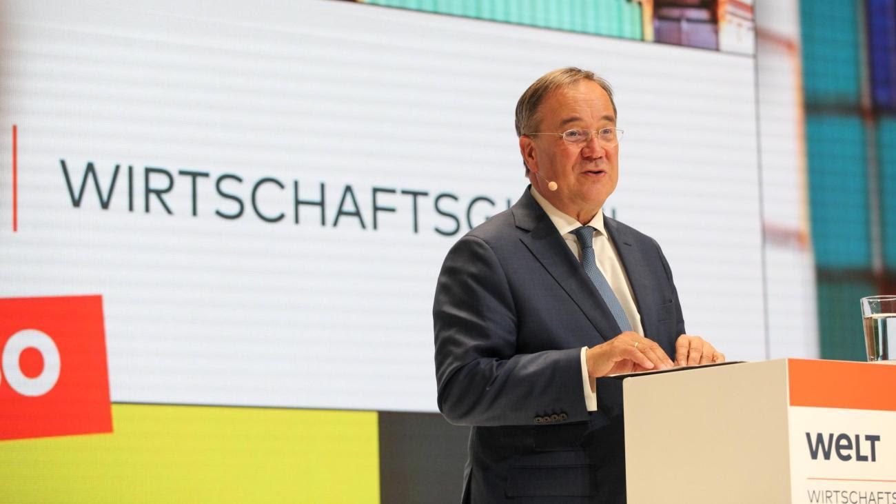 """WELT-Wirtschaftsgipfel: Laschet verspricht """"starkes"""" Digitalministerium"""