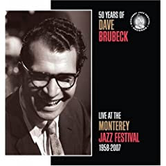 50 Years of Dave Brubeck: Live at the Monterey Jazz Festival 1958-2007    cover