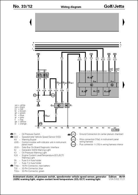 Speed Sensor Wire For R32 To Hook Up Avic N Vw Vortex Volkswagen Forum