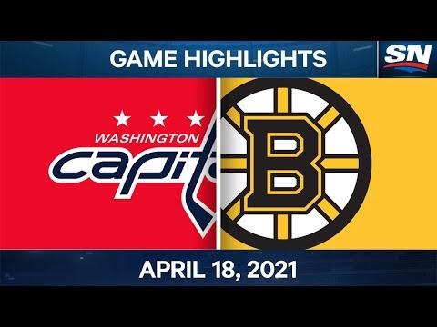 Video: Boston Bruins 6, Washington Capitals 3 highlights