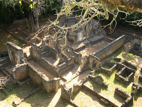 ruins from above