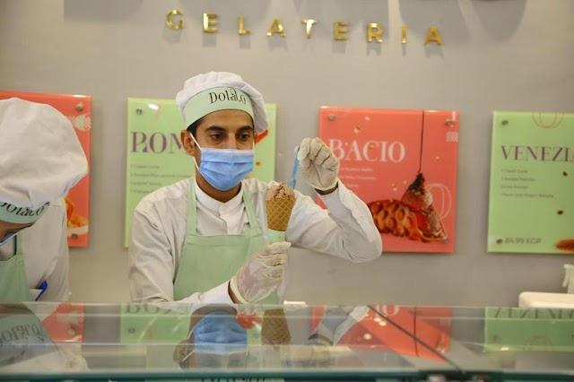لاول مرة بمصر.. Dolato Gelateria تحتفل باليوم العالمى للشيكولاتة واليوم العالمى للجيلاتو