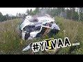 NESTE RALLY FINLAND 2017 | 15 CRASHES | SPECTATOR HEAD CAM