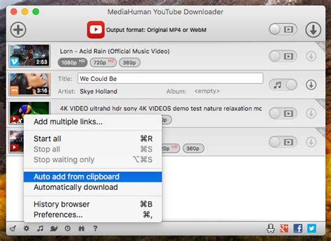 mediahuman youtube downloader feature rich app