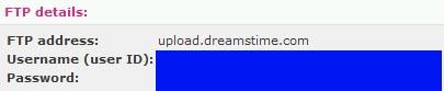 การ upload ภาพทาง ftp ของ dreamstime