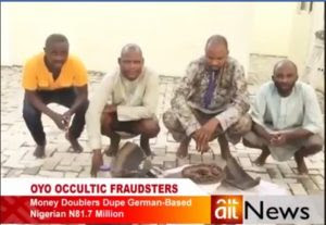 How Oyo Occultic Fraudsters Duped German Based Woman Of N81 Million (Photos)