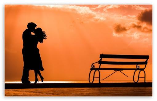 Couple In Love Hd Desktop Wallpaper High Definition Fullscreen