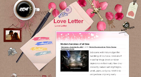 Best Romantic Blogger Templates