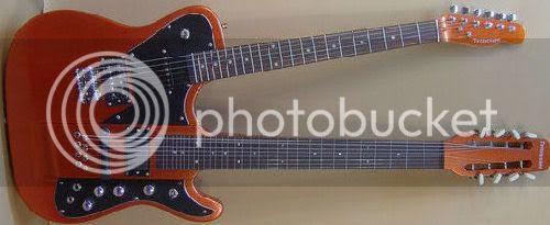Tennessee guitar lapsteel doubleneck