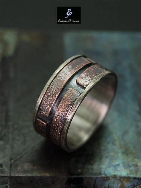 Unique Mens Ring , Men's Engagement Ring , Mens Wedding