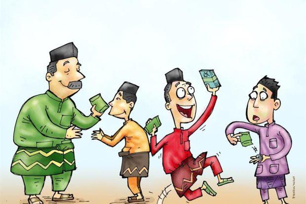 Get Inspired For Kartun Lukisan Suasana Hari Raya Di Kampung Bagipict