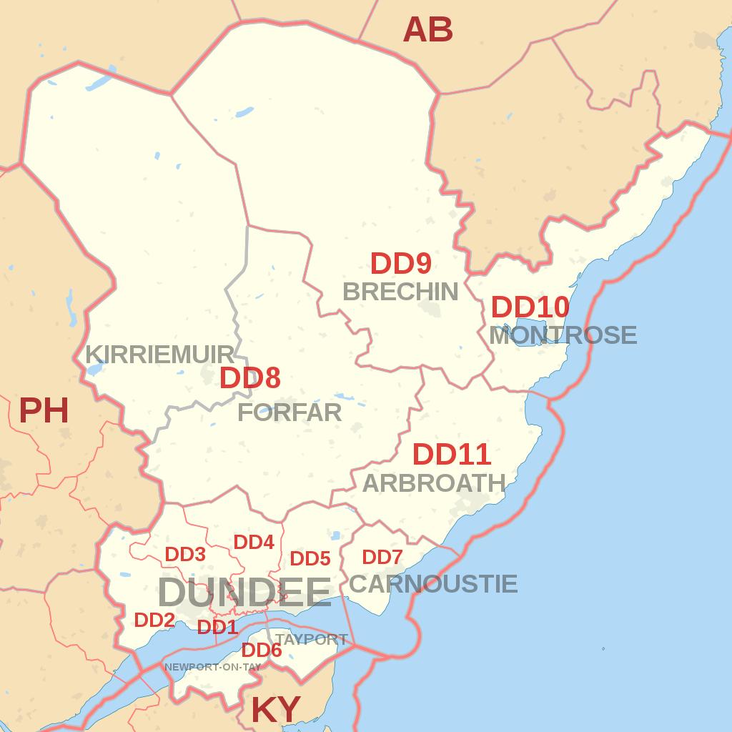 Filedd Postcode Area Map Svg Wikimedia Commons