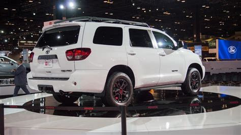 toyota sequoia trd pro joins   road friendly