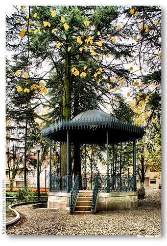 Coreto no jardim do Calvário by VRfoto