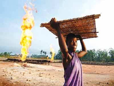 Nigeria currently flares about 24 percent of its gas