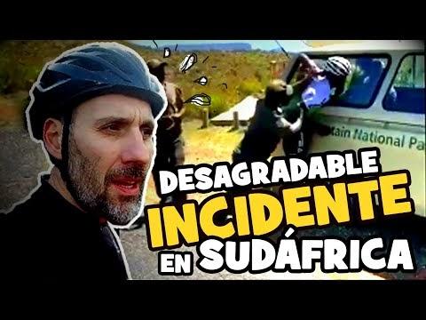 DESAGRADABLE INCIDENTE en SUDÁFRICA - Alfonso Blanco