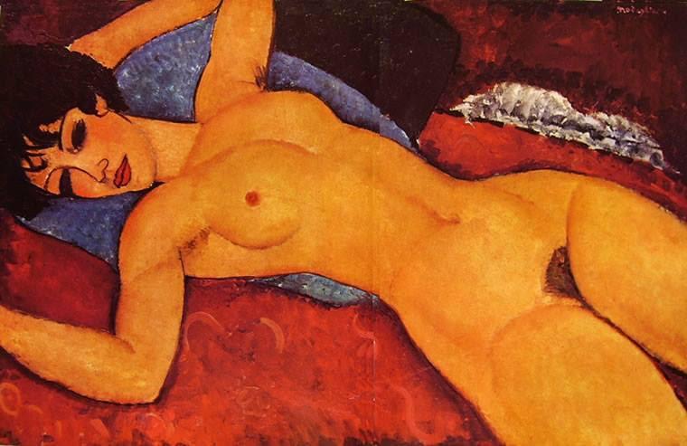 Nudo Rosso di Amedeo Modigliani