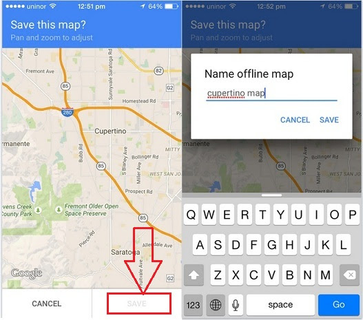 How To Access Google Map Offline On Iphone Ipad Steps