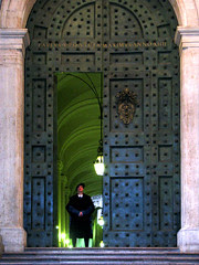 Another Look at the Vatican's Large Bronze Door