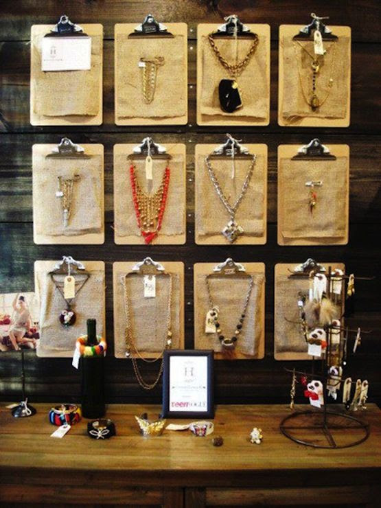 20 Closet Organization Tips & Tricks: Necklace organization/display