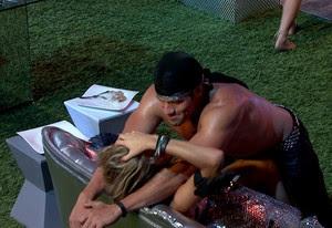 BBB às 01h11m do dia 19/01. (Foto: Big Brother Brasil)