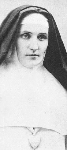 Sister Mary of the Divine Heart, was a religious Sister of the Good Shepherd who requested, in the name of Christ Himself, that Pope Leo XIII consecrate the entire World to the Sacred Heart of Jesus.